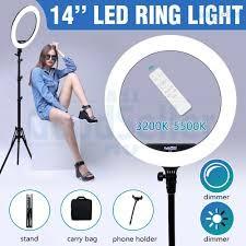 Lámpara redonda fotográfica